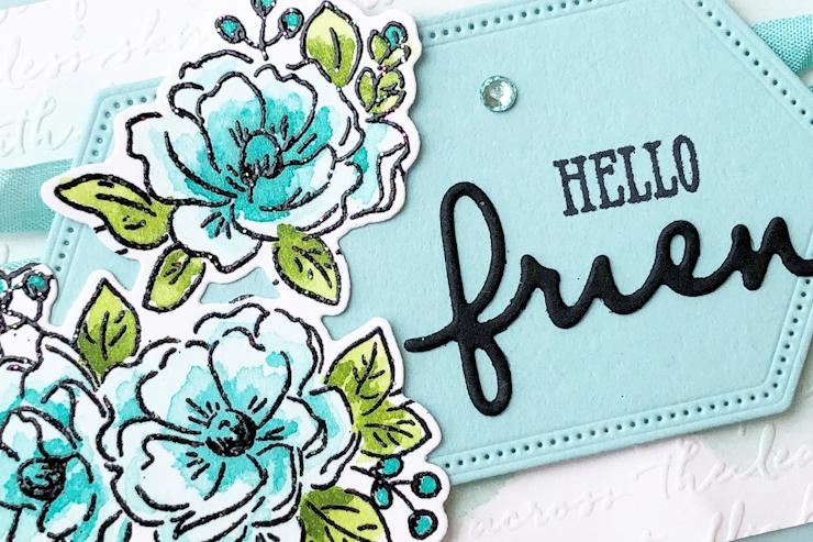 Jo's Stamping Spot - Social Stamping Blog Hop - Hello!