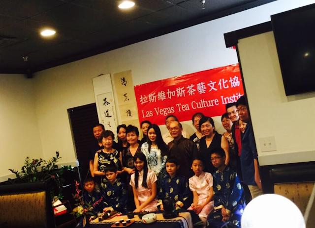 Niu Gu host Chinese Tea Ceremony at Niu Gu in Chinatown Las Vegas