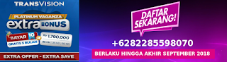 Promo transvision septermber 2018