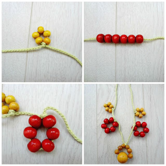 Tie- Bead Necklaces