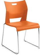Global Duet Stack Chair
