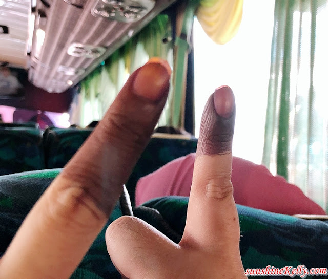 New Malaysia, My Experience, Malaysia 14th General Election 2018, SPR, PRU14, GE14, Inked Fingers, Election Ink Finger, Malaysian, Malaysian Vote, Saluran, Malaysia GE14 Election Day, Malaysia GE14 Election Results