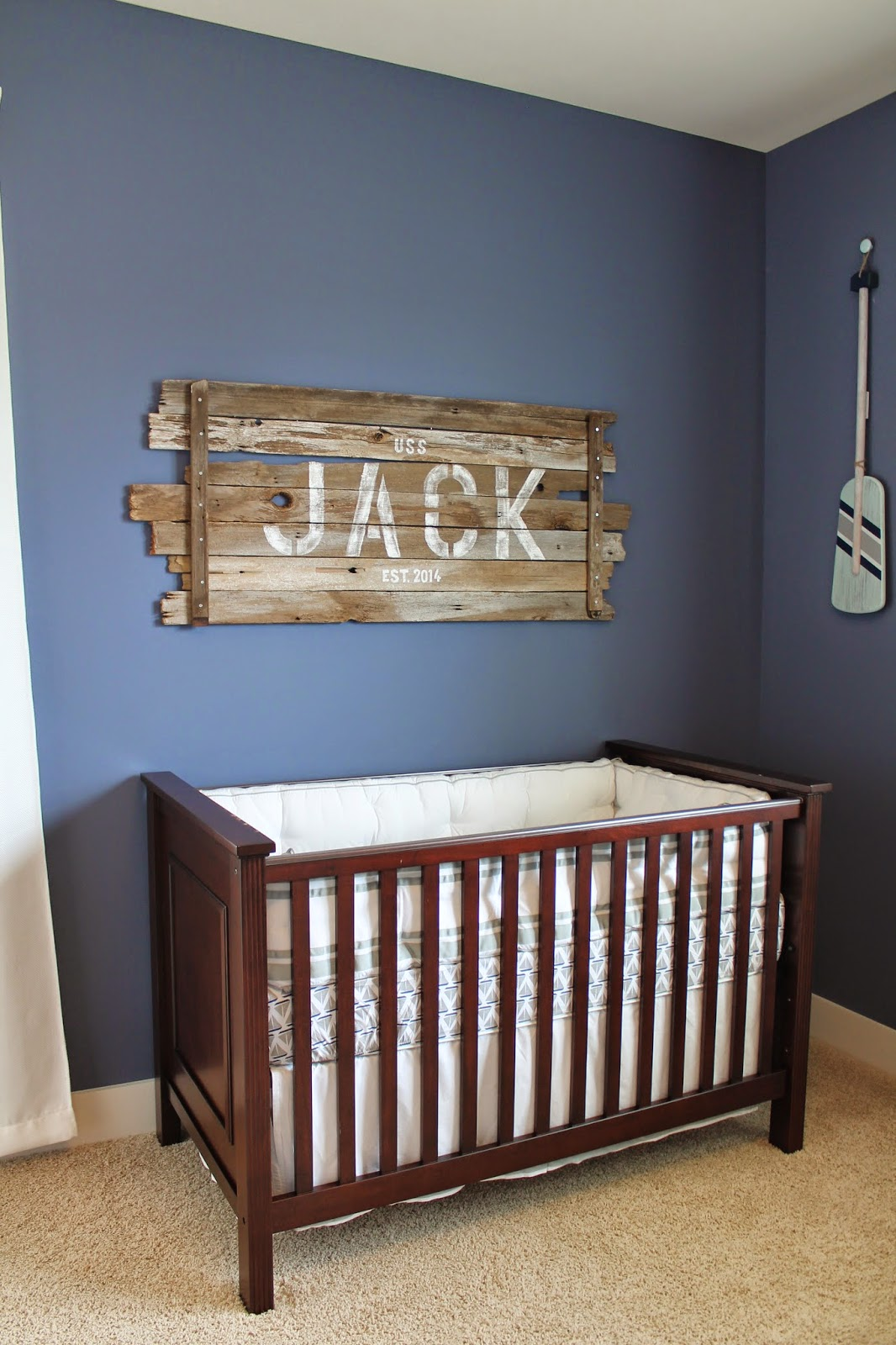 Nautical Baby Boy Room: The Pledger Family: Jack's Nautical Nursery