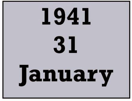 Today in 1941 - January 31 - Josef Jakobs landed by parachute near the village of Ramsey in Huntingdonshire