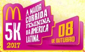 Fazer Inscrição 2017 Corrida Feminina McDonald's 2017