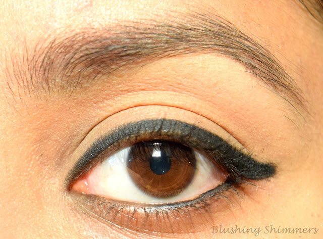 Maybelline the Colossal Kajal 'Super Black' swatches