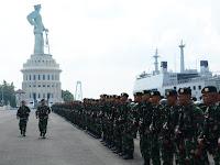 Divif 2 Kostrad Kirim 450 Prajurit Jaga Perbatasan RI-PNG