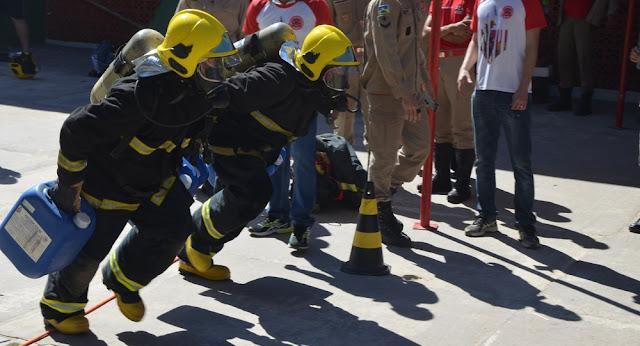 Evento alusivo ao Dia Nacional do Bombeiro é realizado em Cacoal