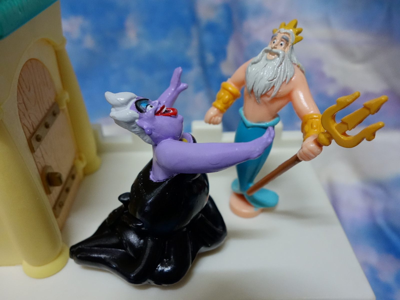 ♛ Just for fun :-): ♛迪士尼: 小美人魚系列公仔 2002 DISNEY PRINCESS THE LITTLE MERMAID FIGURE PACK