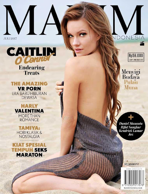 Download Majalah MAXIM Indonesia Edisi Juli 2017 PDF Harly Valentina, Caitlin O'Connor | www.insight-zone.com