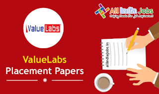 ValueLabs Placement Papers