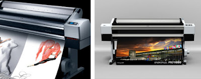 Outstanding Roland RF-640 Large Format Printer Efficient