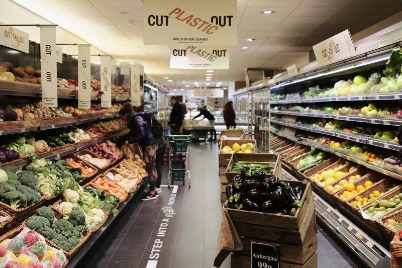 Supermercado sem plástico