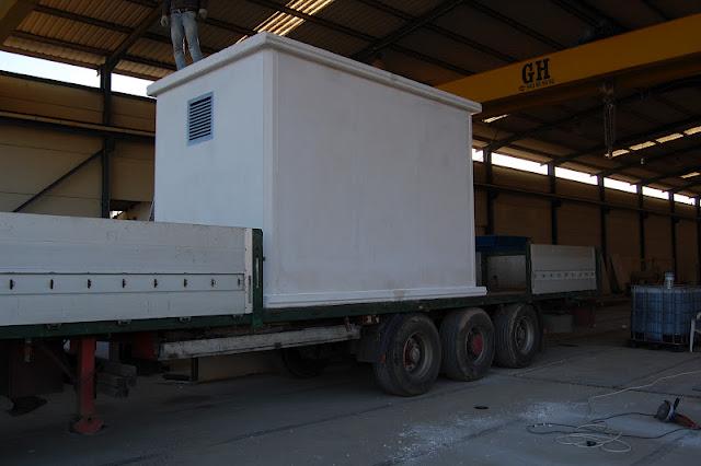 foto distribución y venta de casetas de hormigón