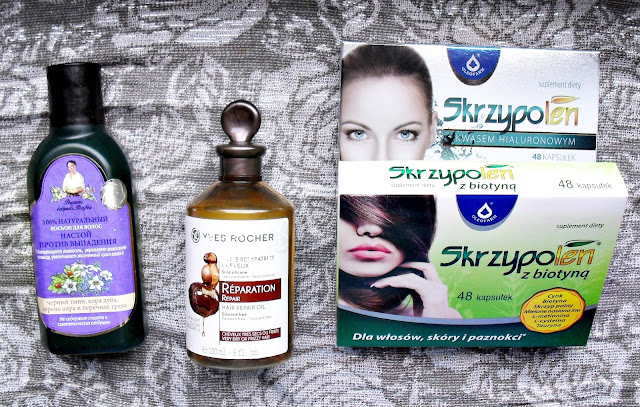 Efekty walki o KAŻDY włos... | Oleofarm, Yves Rocher, Bania Agafii