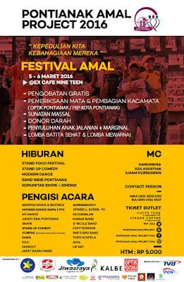 Pontianak Amal Project 2016