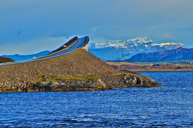 2. The Atlantic Ocean Road, Norway - Top 10 Scenic Rides