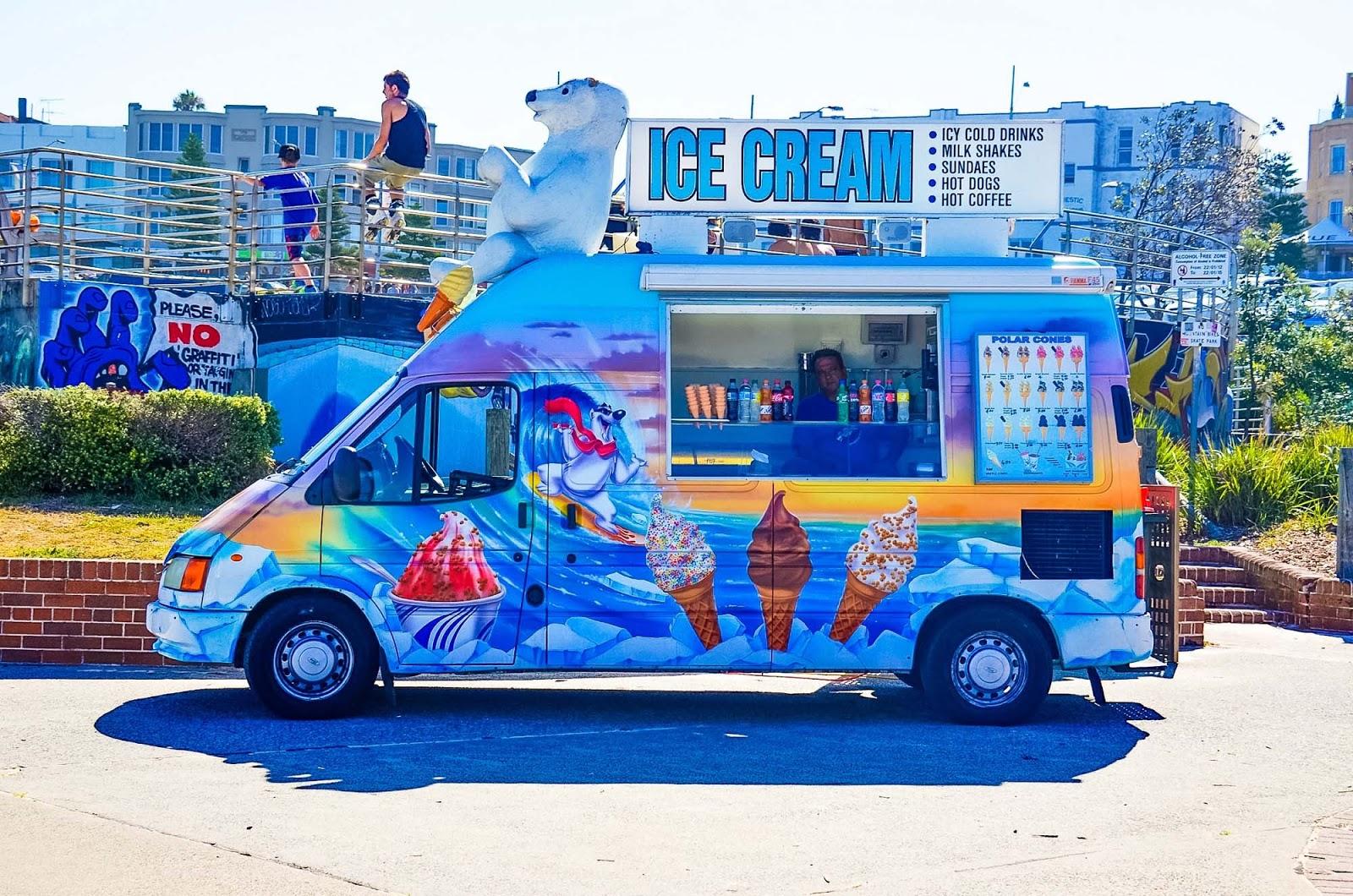 bondi ice-cream truck