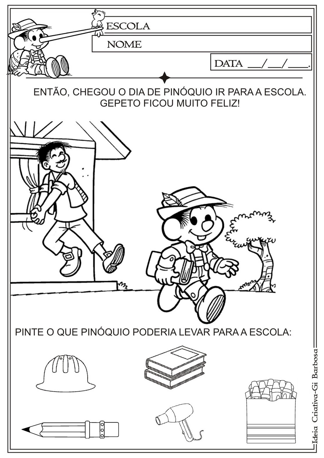 Amado Objetos Escolares Em Ingles E Portugues Wg04