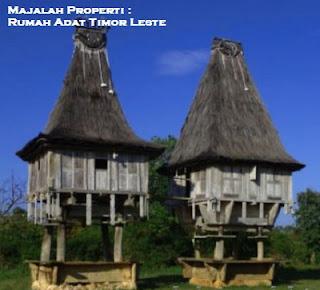 Desain Bentuk Rumah Adat Timor Leste dan Penjelasannya, Arsitektur Tradisional