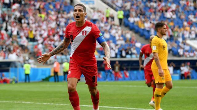 Australia vs Peru - Piala Dunia 2018