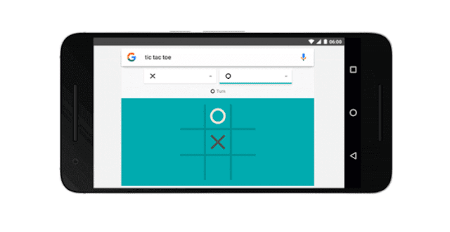 google solitaire and tic-tac-toe games search