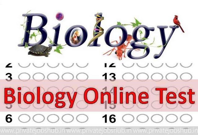 Biology Online Test