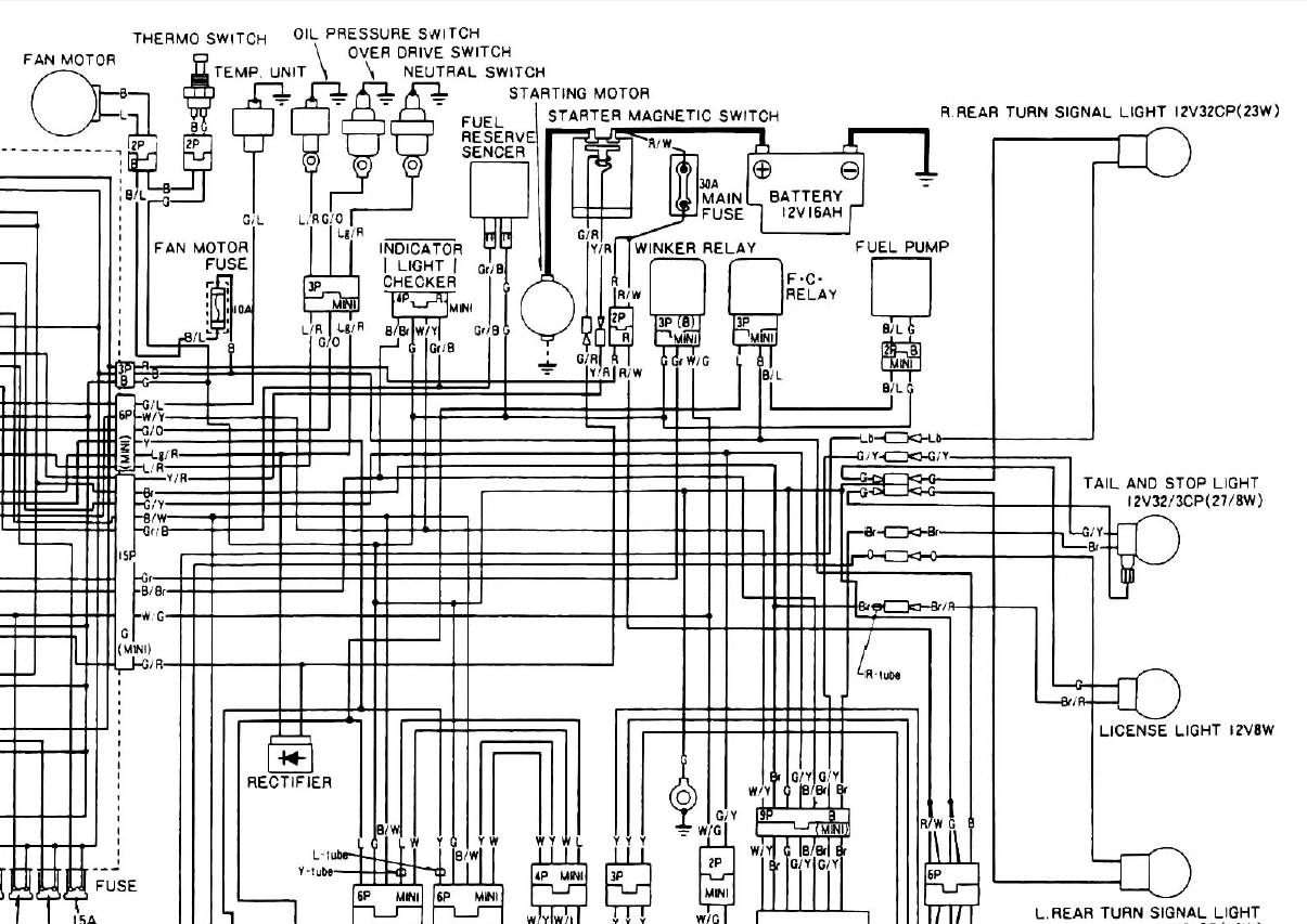 1983 honda shadow 750 wiring diagram