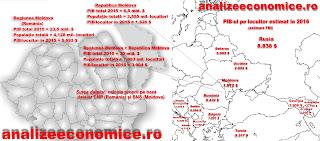 Ce populație și ce PIB ar avea Moldova Mare din capul lui Dodon
