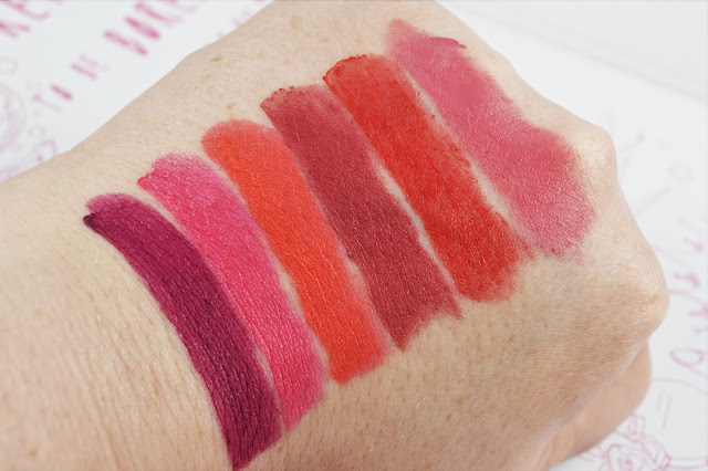 Soap & Glory Sexy Mother Pucker Matte-Lip 3D Lip Colour & Sculpt Swatches