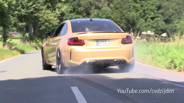 Manhart's 630 HP BMW M2 Looks Like It Is Too Much To Handle
