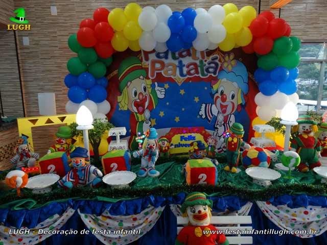 Decoração tema Patati Patatá - Aniversário infantil