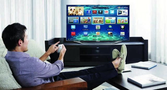 التلفزيونات الذكية