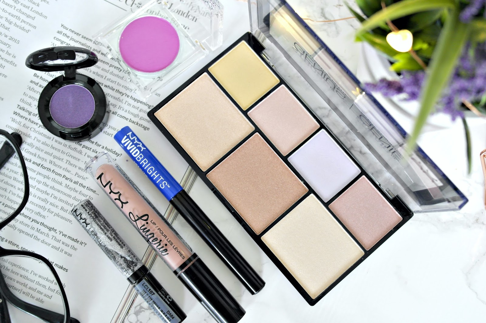 NYX Makeup haul, beauty blogger, review