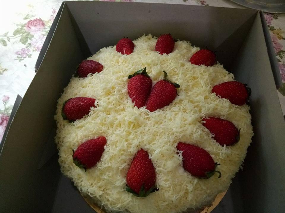 Cheese Kek Leleh Sukatan Cawan