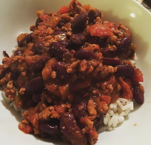 Homemade chilli recipe