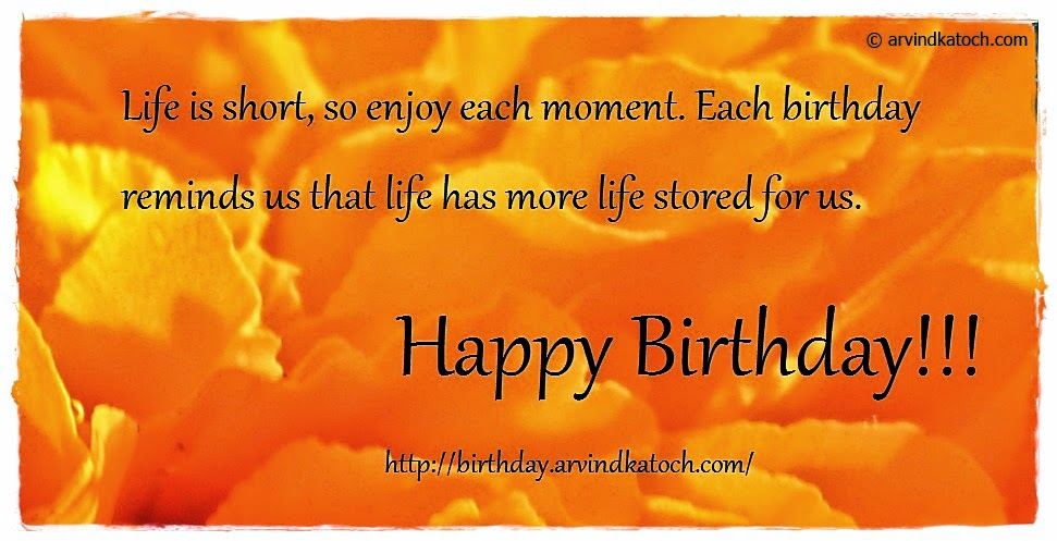 life, moment, birthday, Happy Birthday, Birthday Card