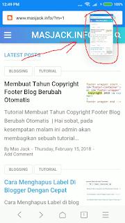 Gambar untuk melakukan scroll screenshot