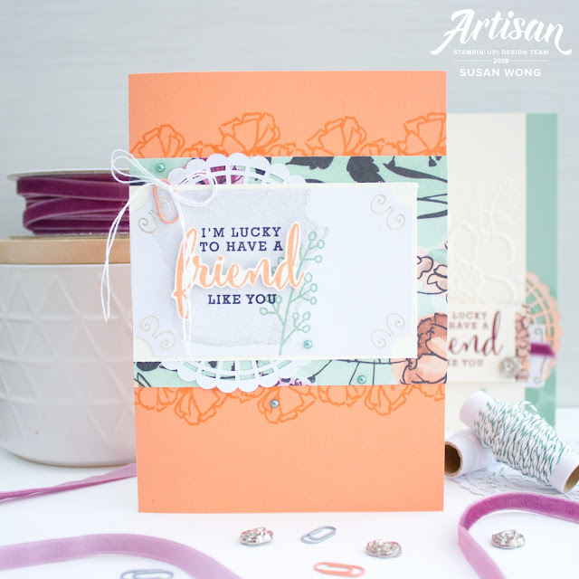 Share What You Love / Love What You Do Stamp Set by Stampin' Up! - Set of Cards by Susan Wong