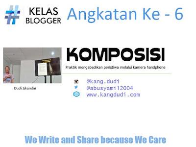 Kelas Blogger @ipehalena