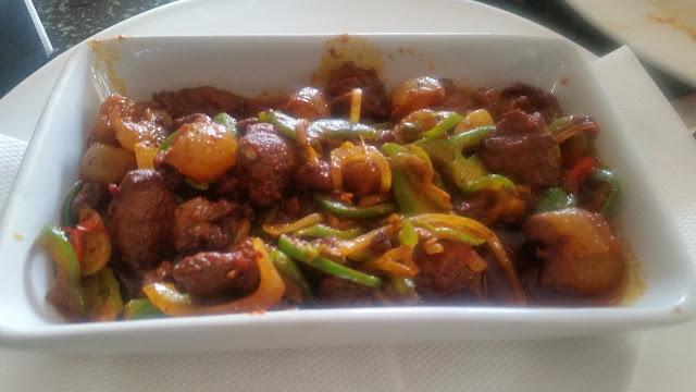 Goan Sausage Chilli Fry