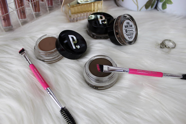 poni cosmetics, review, mane stain, brows, brow pomade