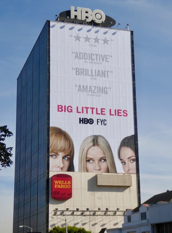 Big Little Lies Golden Globes FYC billboard