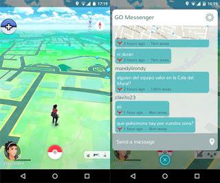 Messenger For Pokémon GO-1