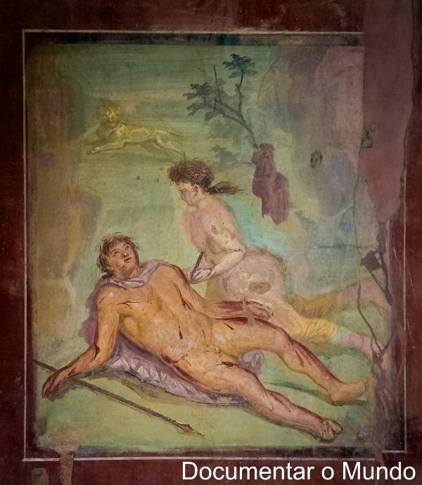 Casa di Octavius Quartio, Pompeia, Itália
