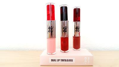 Chosungah 22 Dual Lip Tint & Gloss (Lace, Velvet, Cashmere)