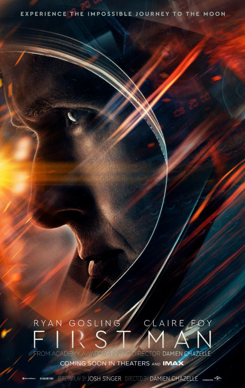 Gripping Pulse Pounding But Also Moving With Genuinely Touching Moments Gosling And Foy Are Great Jason Clarke As Doomed Astronaut