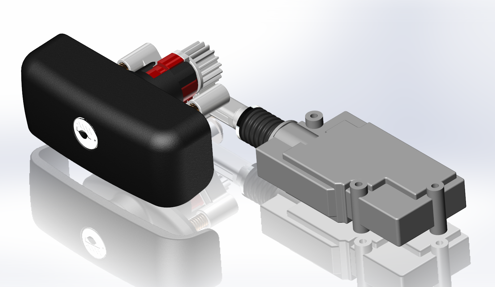 Electric Remote Lock Unlock Idea Mechanism 100048