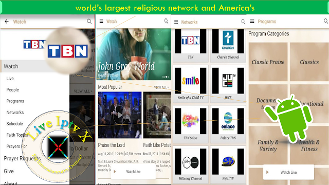 TBN Watch TV Shows Live TV APK