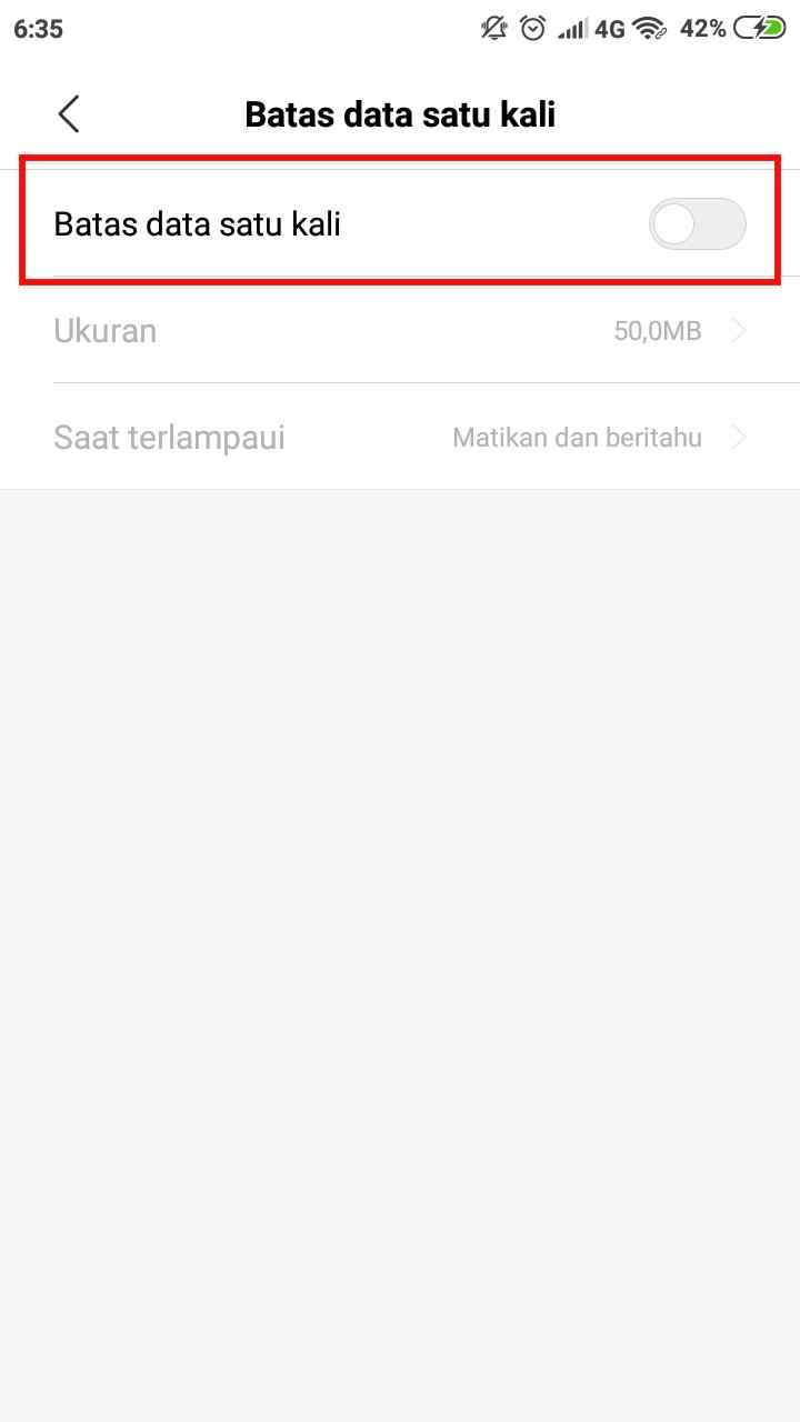 Agar tak boros kuota, cara membatasi penggunaan data hotspot pada ponsel Xiaomi 4